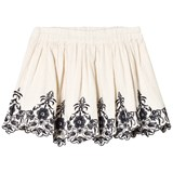 Noa Noa Miniature White Embroidered Skirt