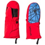 Spyder Spiderman Marvel Overweb Mini Ski Mittens