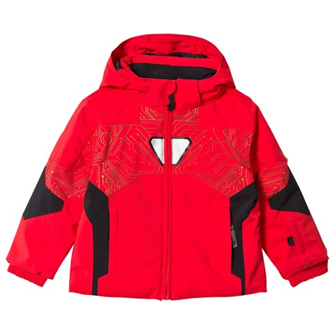 Spyder Iron Man Marvel Ambush Kids Ski Jacket