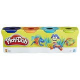 Play-Doh 4-Pack of Blue, Orange, Turquoise and Green Play-Doh