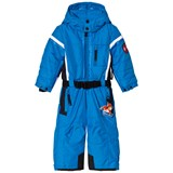 Poivre Blanc Blue Ski Suit with Embroidered Back
