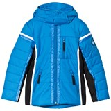 Poivre Blanc Blue Insulated Side Panelled Ski Jacket