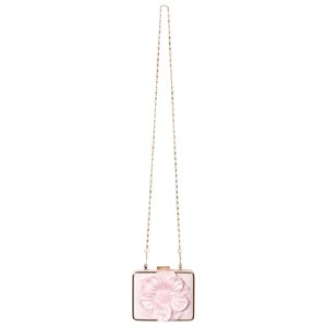 DAVID CHARLES | David Charles David Charles Pink And Gold Flower And Diamante Bag One Size | Goxip