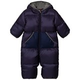Moncler Navy Padded Coverall