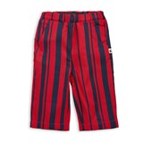 Mini Rodini Odd Stripe Woven Trousers Red