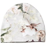 Molo Grey Pink and Green Floral Hat