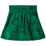 Molo Green Girly Faces Barbera Skirt