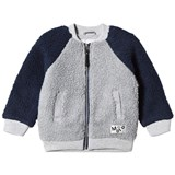 Molo Classic Navy and Grey Hooley Fleece Jacket