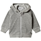 Molo Grey Melange Ummi Fleece Jacket