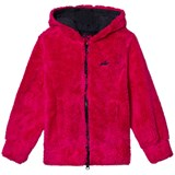 Harry Hall Pink Applemore Junior Full Zip Hooded Fleece