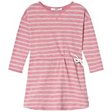 eBBe Kids Pink and Grey Striped Dress