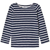 eBBe Kids Pixel L/S Tee Deep Navy/Grey