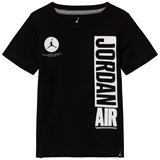 Air Jordan Black and White Short Sleeve Jordan Air Tee