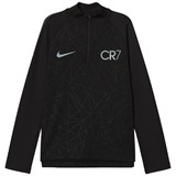 Nike Black CR7 Dry Squad Drill Top