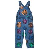Stella McCartney Kids Shell Print Sequin Rudy Dungarees