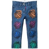 Stella McCartney Kids Shell Patch Lohan Jeans