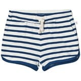 eBBe Kids Off White/Seaside Blue Stripe Daisy Shorts