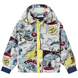 Stella McCartney Kids Multi Colour Tourist Print Scout Windbreaker