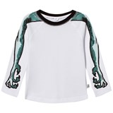 Stella McCartney Kids White Arms Print Max Tee