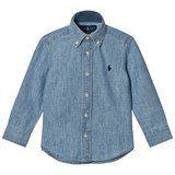 Ralph Lauren Light Blue Long Sleeve Chambray Shirt