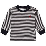 Ralph Lauren White and Navy Stripe Jumper