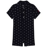 Ralph Lauren Navy Anchor Print Shortall