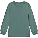 Ralph Lauren Green Long Sleeve Tee with PP