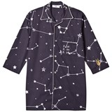 Gardner and The Gang Blue Map Print Long Night Shirt