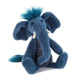 Jellycat Blue Snugglebaggle Alfred Elephant