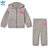 adidas Originals Grey Infants Equipments Hoodie  Set