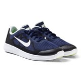 Nike Blue Nike Free Run 2 Junior Trainers