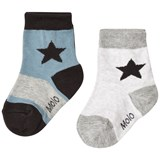Molo Nitis Socks Light Grey Melange
