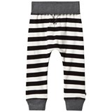 Molo Black Stripe Soft Trousers