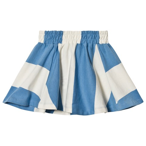 Molo Cornflower Stripe Barbera Skirt