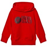 Diesel Red Branded Only the Brave Hoody