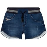 Diesel Blue Jog Denim Shorts