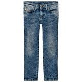 Diesel Acid Wash Skinzee Low Skinny Jeans