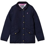 Joules Navy Quilted Coat