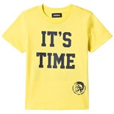 Diesel Yellow Time 2 Party Print Tee