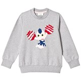 Fendi Grey Cheerleader Sweater