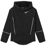 Nike Black Hooded Running Jacket