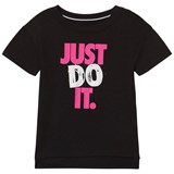 Nike Black Just Do It Sportswear Tee