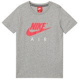 Nike Grey and Red Nike Air Branded Tee