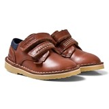 Kickers Brown Tan Leather Adlar Twin Lo Shoes