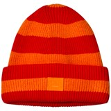 Acne Studios Geranium Orange and Red Mini Hat