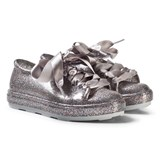 Mini Melissa Silver Glitter Kids Disney Be Trainers
