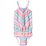 Seafolly Rainbow Pop Stripe Blouson Tank