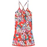 Seafolly Red Flowers Fringing Dress