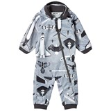 Molo Planes and Birds Print Hill Soft Shell Suit