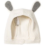 Stella McCartney Kids Cream Chips Knitted Bunny Hat